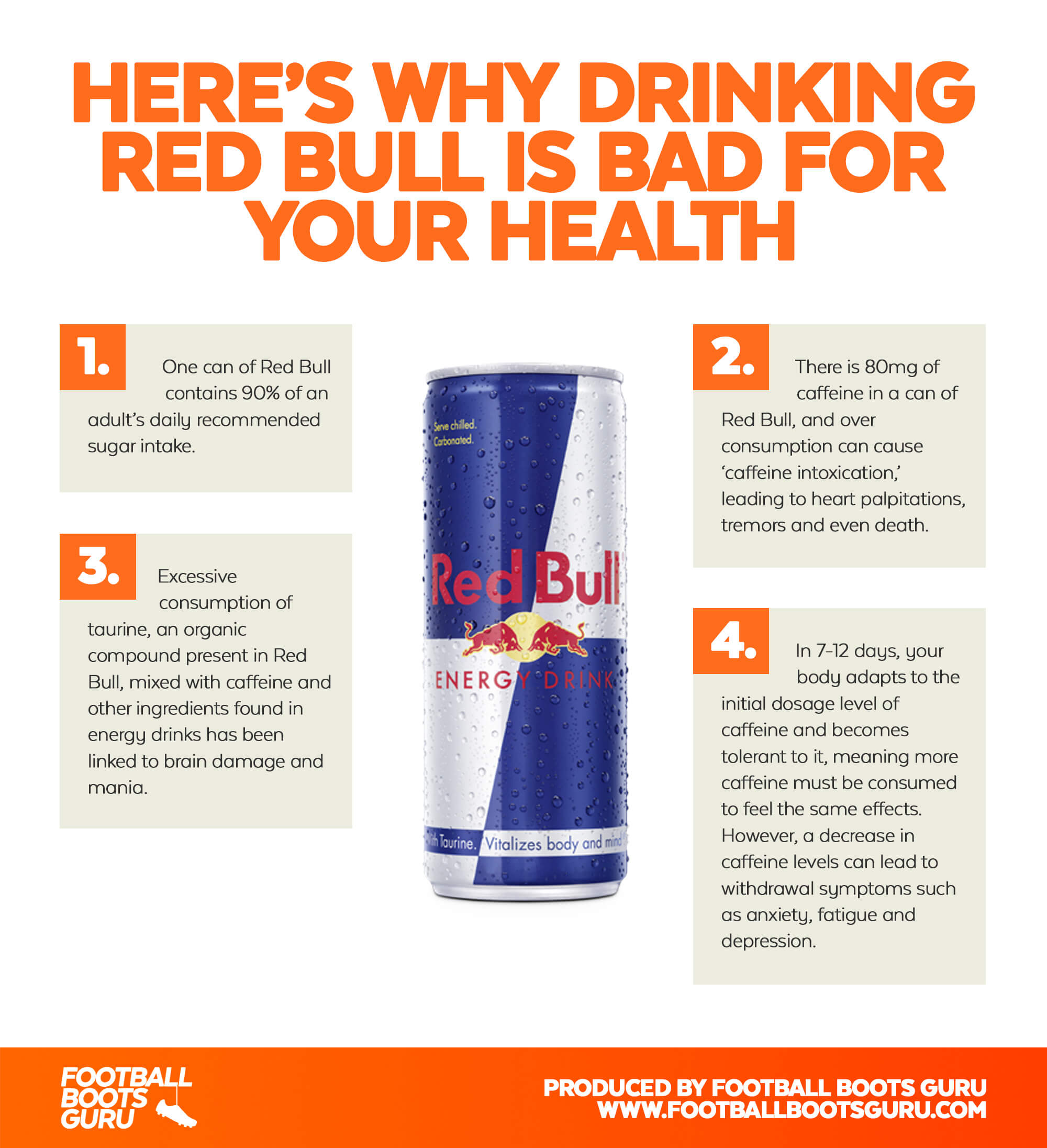red bull effects